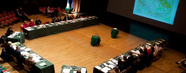 Enregistrement vidéo du conseil municipal-vote du budget 2013