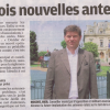 Le Parisien Val de Marne évoque ma contestation contre l'implantation de trois antennes-relais Orange