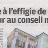 Interview dans le Parisien Val de Marne du 30 avril 2012