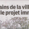 Interview dans le Parisien Val de Marne du 26 avril 2012