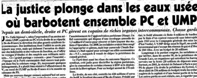Jacques JP Martin «à l'honneur» dans le Canard Enchaîné !