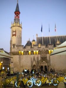 Réception du Club des villes cyclables à la Mairie de la Rochelle