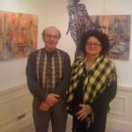 Hélène Goislot et Serge Sangan au Carré dees Coignard
