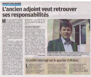 article le Parisien 1er avril 2010