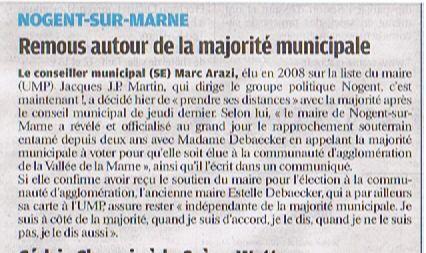 le parisienvdm 1 fèvrier 2011