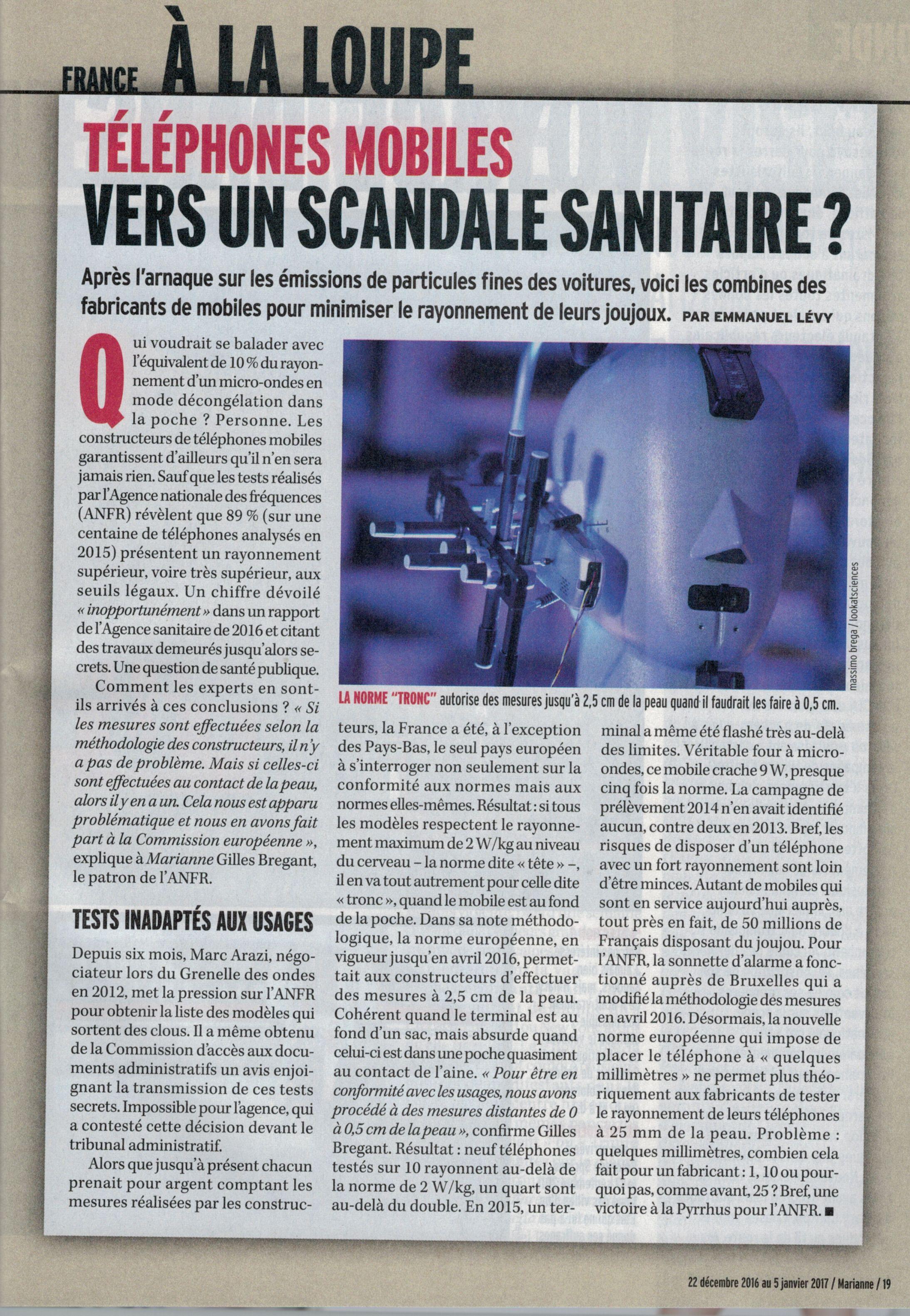 Article Marianne 24 dec 2016