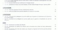 A l'ordre du jour du Conseil Municipal du 16 novembre 2009