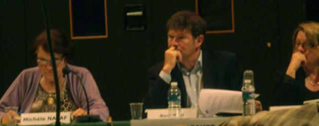 Mes prises de position lors du Conseil Municipal du 13 Septembre 2010