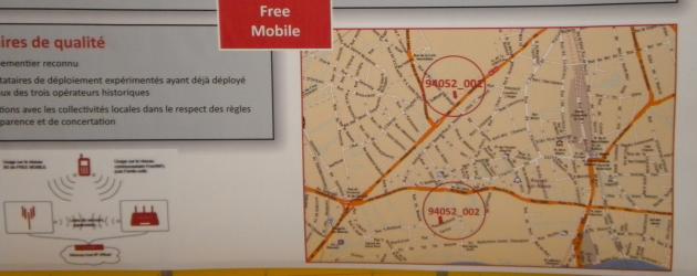 Free mobile projette d'implanter ses antennes-relais au 92 rue François Rolland