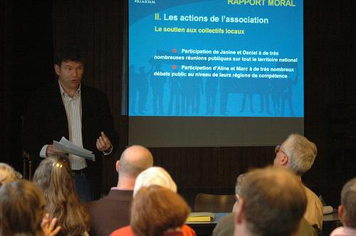 Intervention lors de l'AG Priartem 2009
