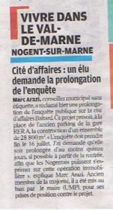 le parisien 9juillet 2010 enquete publique