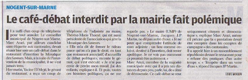 article le praisien mosaïque 9 02 2011
