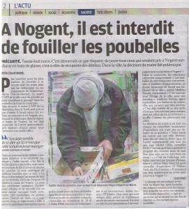 le parisien national 12 oct 2011 arrêté anti glanage
